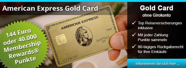 AMEX Gold Card - Top Reiseversicherungen, Punkte sammeln, 90-Tage Rückgaberecht für Einkäufe