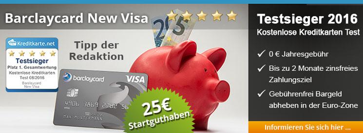 Empfehlung der Redaktion + 25 Euro Neukunden-Bonus