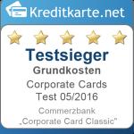 Testsieger Grundkosten Commerzbank Corporate Card Classic