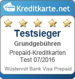 Testsieger Grundgebühren Wuestenrot bank
