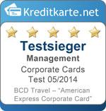 Testsiegel für Kategorie-Sieger Management