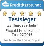 Testsieger Zahlungsverkehr Wuestenrot Bank
