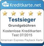 Testsieger Grundgebuehren American Express Payback
