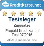 ADAC Testsieger Zinssätze