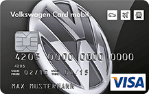 Volkswagen Bank Visa Card mobil mit Reise-Versicherung
