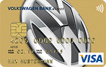 Volkswagen Bank Visa Card pur