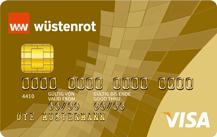 Weltweit kostenlos Bargeld abheben mit der Wüstenrot Visa Gold