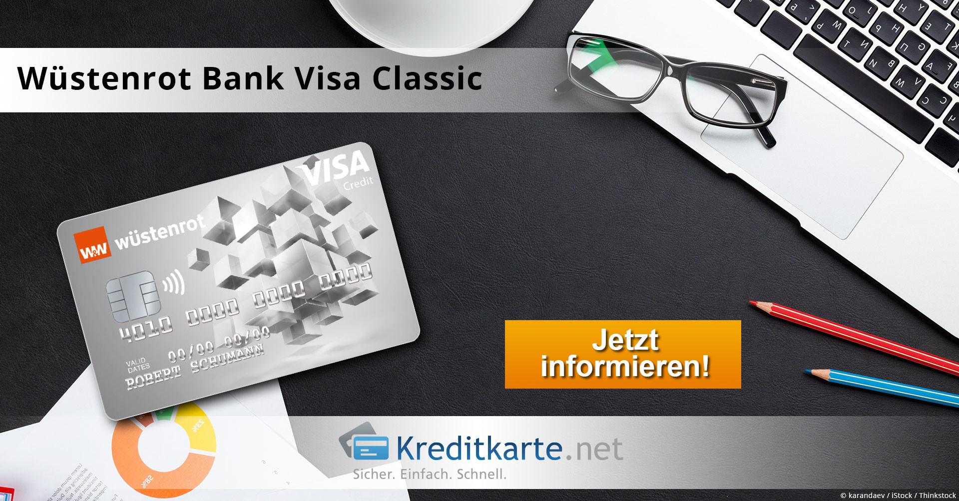Wüstenrot Bank Kreditkarte mit Girokonto