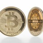 Der Bitcoin als die bisher bekannteste virtuelle Währung.