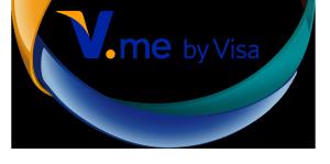 Logo von V. me by Visa