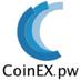 Logo der Firma Coinex.pw
